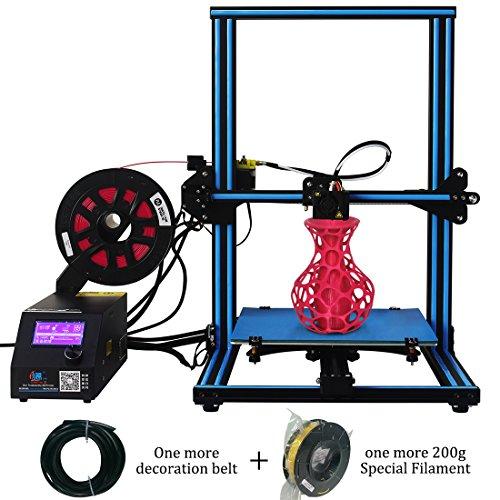 (Creality CR-10S 3D Printer Upgrade Dual Z DIY Kit with Filament Sensor,Resume Priting 300x300x400mm Blue Black)
