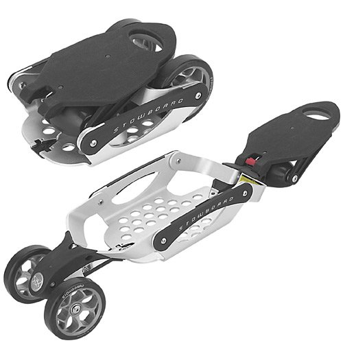 Foldable stowboards
