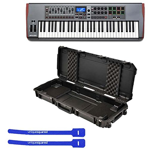 Novation Impulse 61 USB Midi Controller Keyboard, 61 Keys