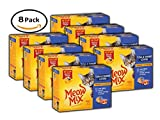 PACK OF 8 - Meow Mix Tender Favorites With Real Tuna & Whole Shrimp in Sauce Wet Cat Food, 2.75-Ounce Cups (12 Cup Multi-pack)