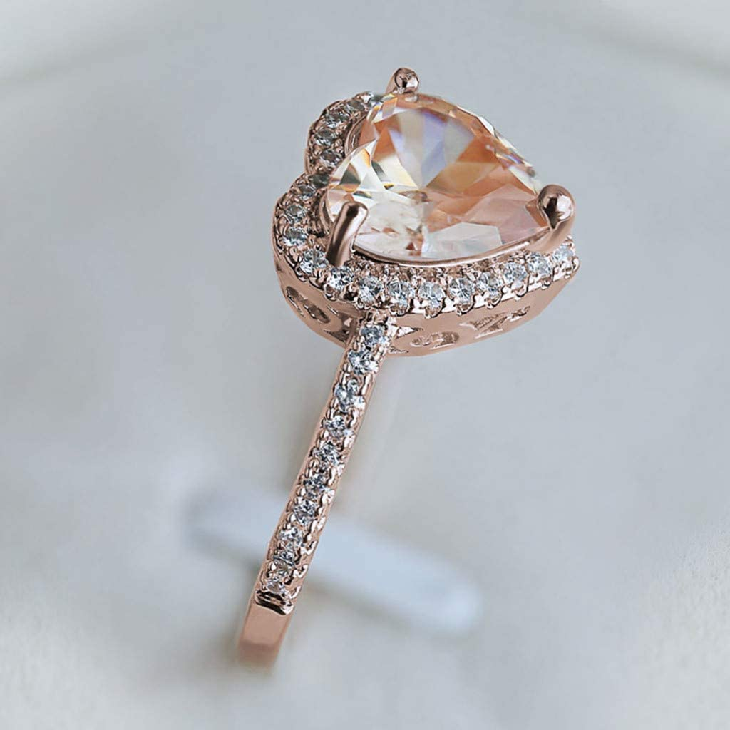Koolee Crystal ring,12pcs//set Boho Vintage Stone Hollow Flower Ring Set Finger Knuckle Rings Jewelry