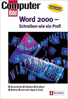 Word 2000, Schreiben wie ein Profi