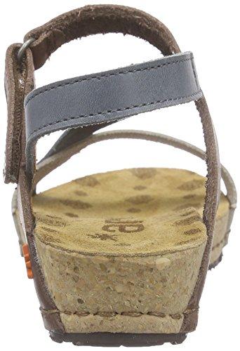 Arte Sandali Cinghia Blu Donne Delle Pompei Caviglia Della multi Oceano Della rRBqrwZx