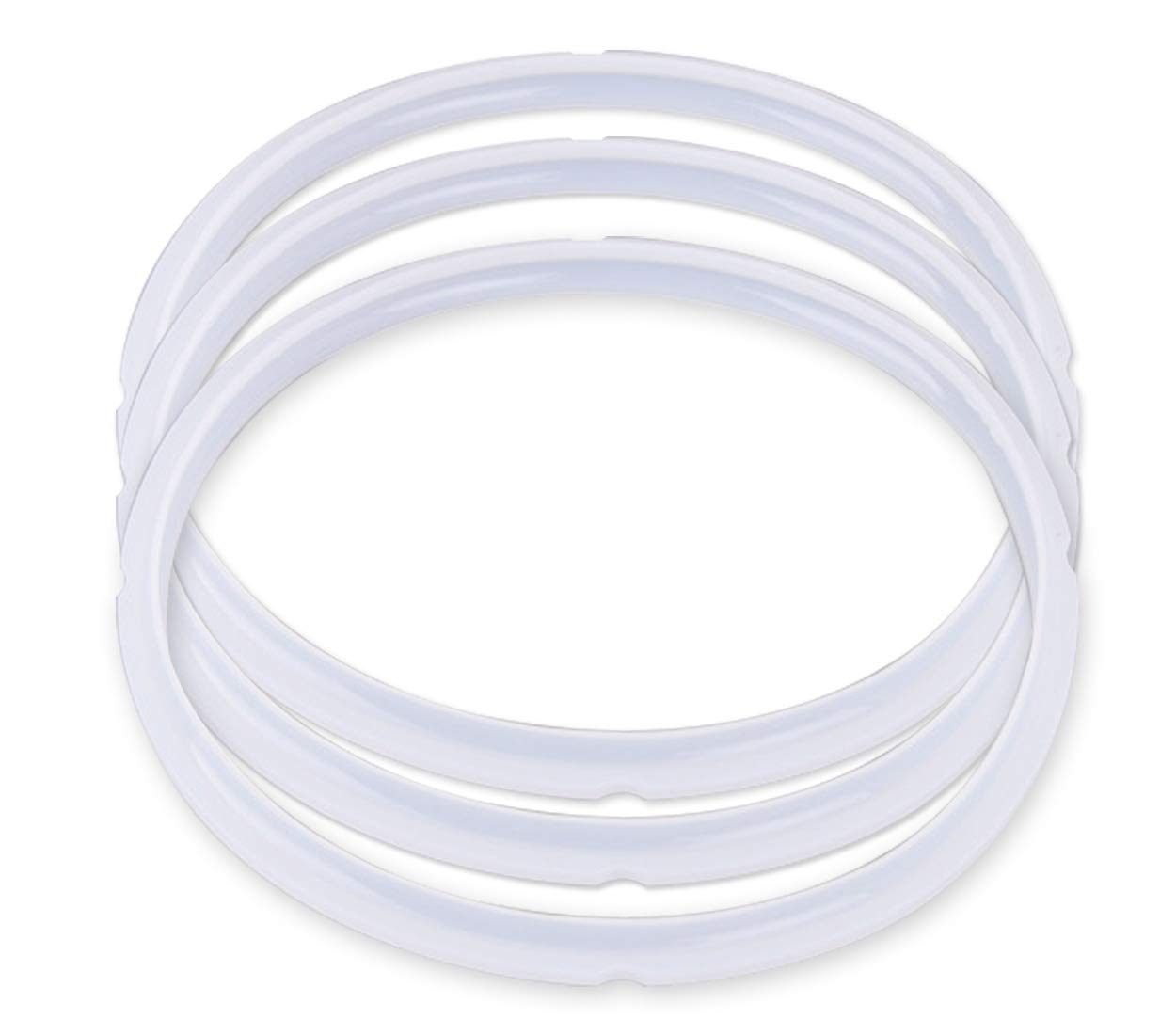 Sealing Ring Silicone Sealing Ring for Pressure Cookers 5 or 6 Quart (3 Pack)