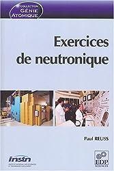 Exercices de neutronique