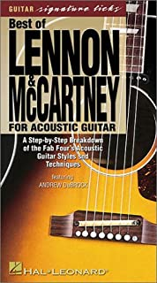 Best of Lennon & McCartney for Acoustic Guitar: A Step-by-Step Breakdown of the Fab Four's Acoustic Guitar Styles and Techniques (0634019961)   Amazon Products