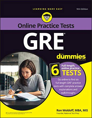 Pdf Test Preparation GRE For Dummies with Online Practice