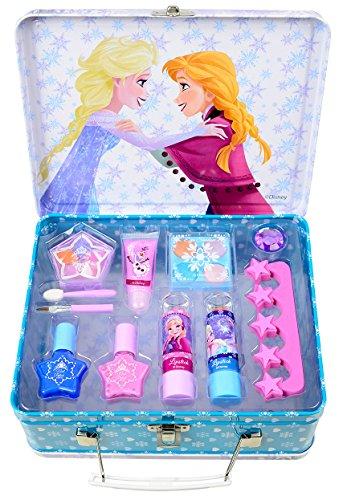 Disney Frozen / Die Eiskönigin / Geschenk-Set: Winterzauber Make-up Koffer + Make-up (Schminke) - für Kinder