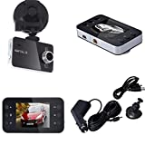 Egmy® 2.7'' LCD Full HD 1080P Car DVR Vehicle Camera Video Recorder with G-Sensor, Parking Monitor Auto Recorder for Cars