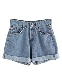 SweatyRocks - Jeans de Mujer con Bolsillos