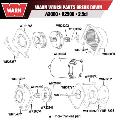 Warn A2000 Winch Schematic - Wiring Diagram Bookmark on