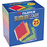 Fujifilm Media 25367025 Empty Color Slim Jewel Cases - 25 Pack (Discontinued by Manufacturer)