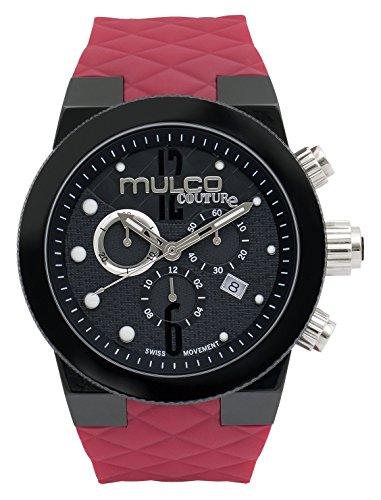 MULCO Unisex MW5-2552-065 Couture Analog Display Swiss Quartz Red Watch