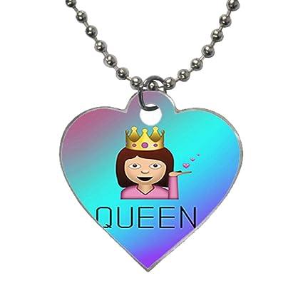 CHK Drama Queen Emoji Funny Custom Image useful (one side