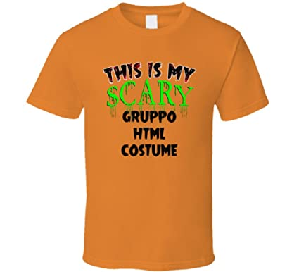 Halloween Gruppo.This Is My Scary Gruppo Html Halloween Cool Trending Job T Shirt