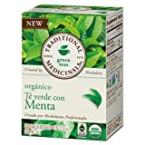 Traditional Medicinals Organic Green Tea, Peppermint, 16 Count Review
