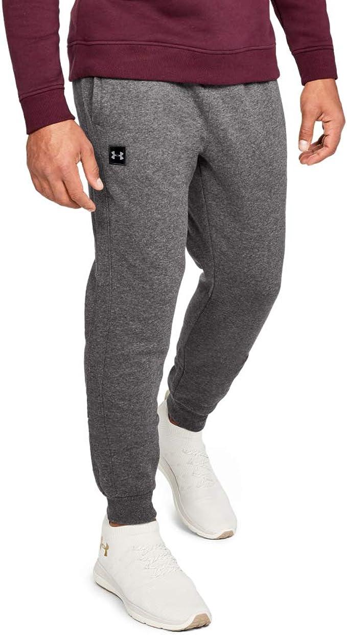 Depresión favorito Bañera  Amazon.com: Under Armour Men's Rival Fleece Joggers Pants: Clothing