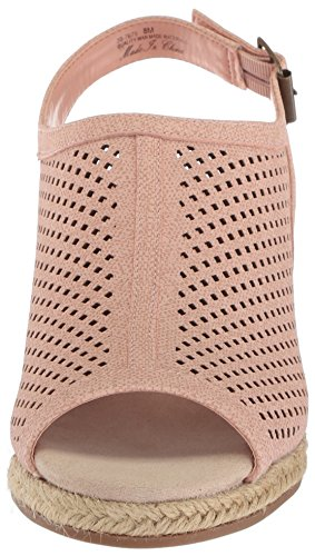 Facile Rue Femmes Stacy Wedge Sandale Blush Linge Imprimé