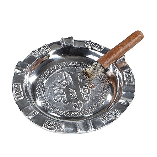 Diesel Pewter 6-Finger Ashtray