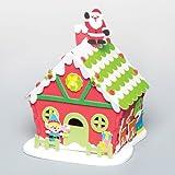 Laboratorio dei giocattoli di Babbo Natale per bambini da Creare e Appendere