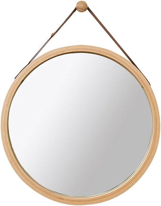 Badezimmer Spiegel Dressing Spiegel foyar Wandspiegel Rund Wall Runder Spiegel Wand f/ür Eingangsbereich Wohnzimmer Schlafzimmer B/üro