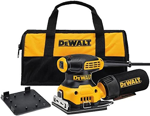 DEWALT DWE6411K 1 4 Sheet Palm Grip Sander Kit