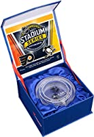 2017 NHL Stadium Series Philadelphia Flyers vs. Pittsburgh Penguins Crystal Puck - Filled With Ice From The 2017 Stadium Series - Fanatics Authentic Certified