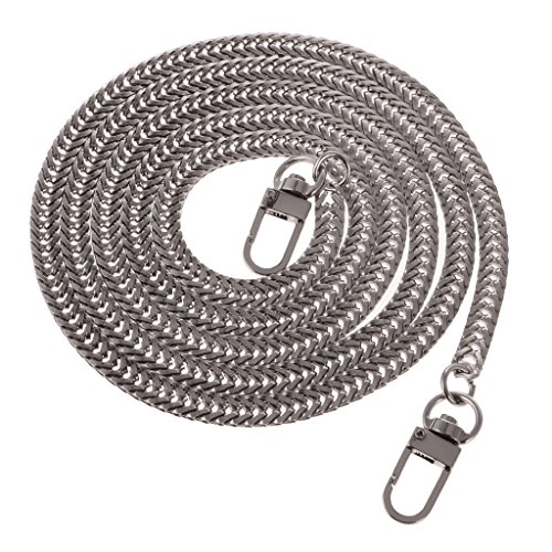 Silver DIY 128x0 Chain Replacement Purse Sharplace Handbag 6cm Strap Bag Shoulder for Craft Handle gx4BCwqS