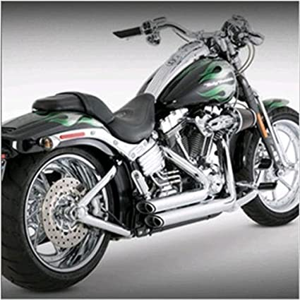 Vance & Hines 17213 Shortshots Staggered Exhaust For Harley-Davidson Dyna  Glide Models (Yr 1991-05)