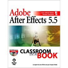 After effects 5.5 classroom in a book