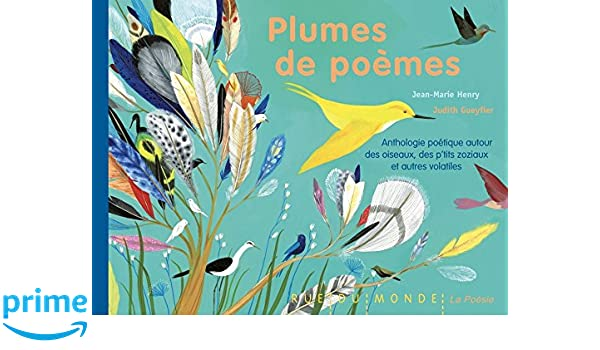 Plumes De Poèmes Anthologie Poétique Autour Des Oiseaux