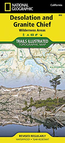 (Desolation and Granite Chief Wilderness Areas (National Geographic Trails Illustrated Map))