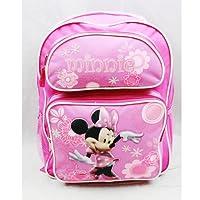 Mochila - Disney - Minnie Mouse - con todas las flores rosas