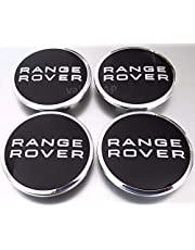 jinshan689 4 X .Range Rover Land Rover Supercharged Black Badge Wheel Center Hub Caps