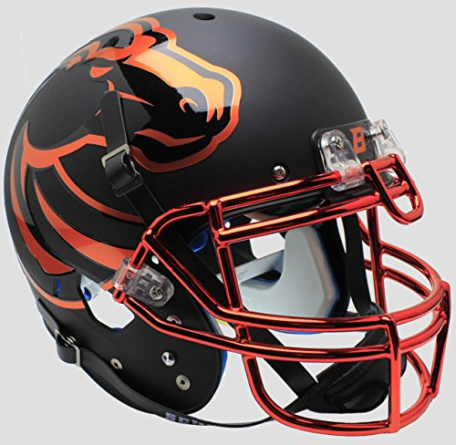 - Schutt NCAA Boise State Broncos On-Field Authentic XP Football Helmet, Halloween Alt. 7
