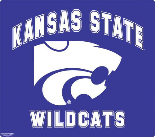 Wow!Pad 78WC019 Kansas State Collegiate Logo Desktop Mouse Pad