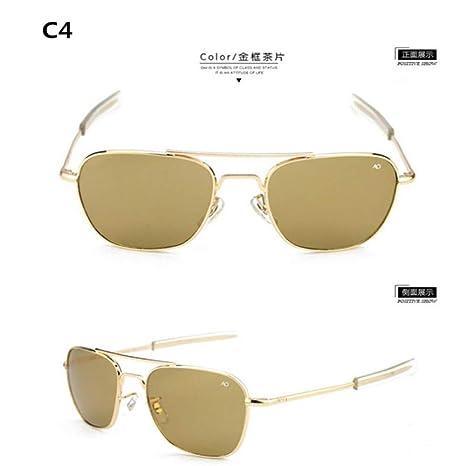 Yangjing-hl Gafas de Sol Hombres Mujeres diseñador Retro con ...