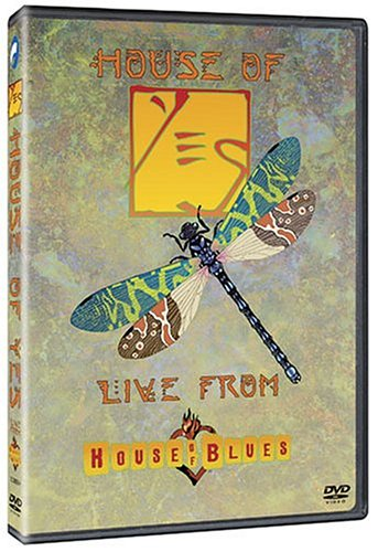 DVD : Yes - House of Yes: Live from House of Blues (DVD)