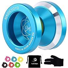 Magic YoYo N8 Unresponsive Yoyo Alloy Aluminum Yo Yo + 6 Strings + Glove+Yoyo Bag Gift