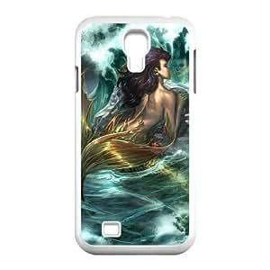 SamSung Galaxy S4 I9500 Little mermaid Phone Back Case Art Print Design Hard Shell Protection MN065597 hjbrhga1544
