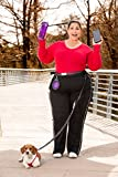 Bicycle Dog Leash - Hands Free Dog Leash Set - Running Leash also Good for Hiking and Biking, Adjustable Waist Belt 30-52