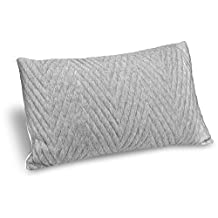 VADAARA SLEEP PILLOW - Custom Adjustable Omni - Contour Foam feat. Cooling, Dust Mite Resistant, Hypoallergenic Certipur Memory Foam - Washable, Removable Bamboo Cover - MADE IN USA (King)