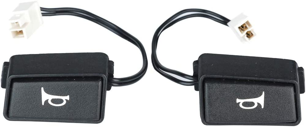1991-1993 Mustang Horn Buttons Switches Pair