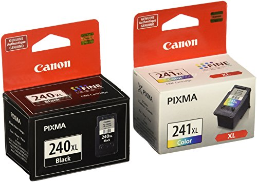 Genuine Canon Pg-240Xl & Cl-241Xl Ink Cartridge Set