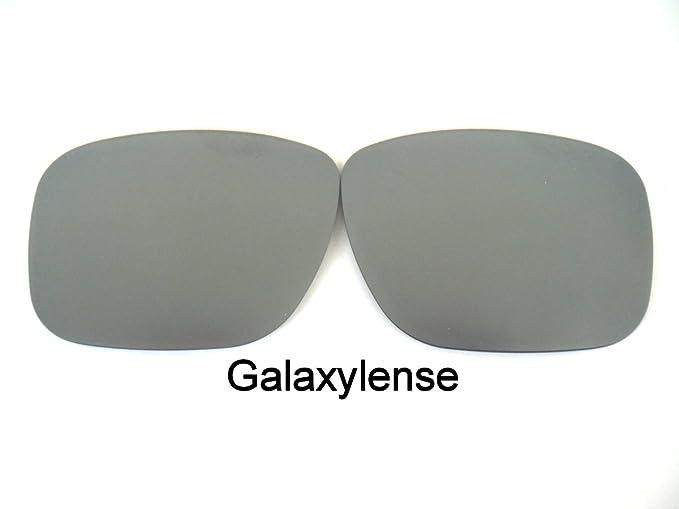 f8425cfe2f0 Amazon.com  Galaxy Replacement Lenses For Oakley Mainlink Sunglasses  Polarized Titanium  Clothing