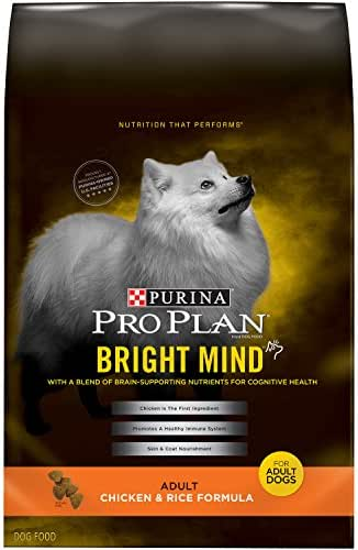 Purina Pro Plan Senior Dry Dog Food, BRIGHT MIND Chicken & Rice Formula - 30 lb. Bag