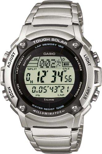 Casio Tough Solar Reloj digital para hombres Alimentación Solar: Amazon.es: Relojes