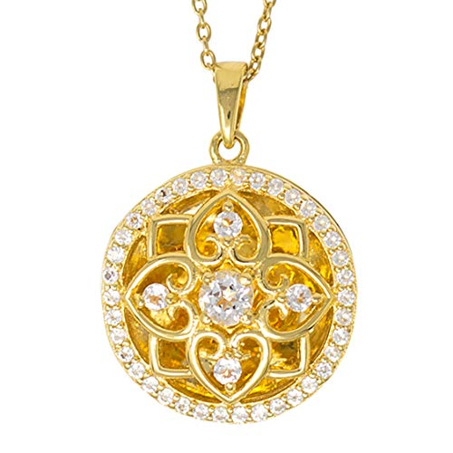 With You Lockets-Fine Yellow Gold-Custom Photo Locket Necklace-That Holds Pictures for Women-The Elsie ()
