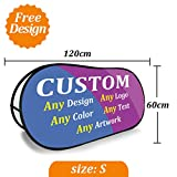 Free Design Custom Any Artwork Any Color Any Logo Any Text Pop up A Frame Banners Pop Out Banners Sideline A Frame Signs (S (120cmx60cm))