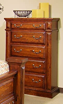"Progressive Furniture Torreon Chest, 38"" x 18"" x 54"", Antique Pine"